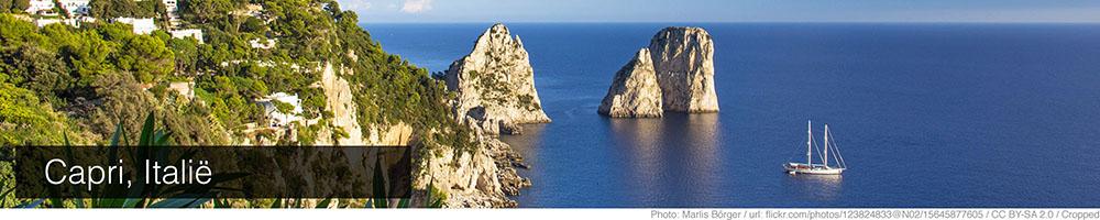 Weer Capri september