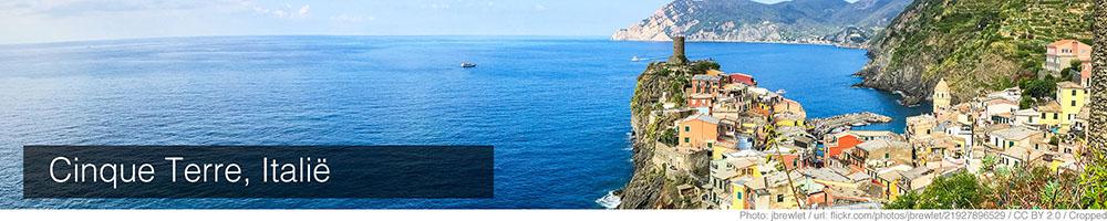 Weer Cinque Terre juli