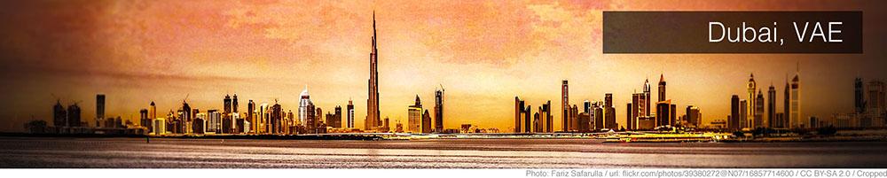 Weer Dubai april