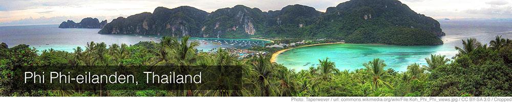 Weer Koh Phi Phi januari