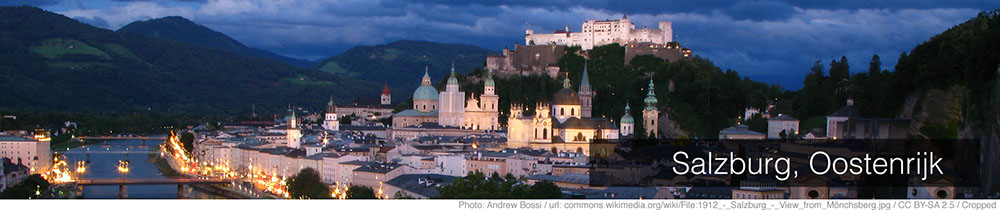Weer Salzburg per maand