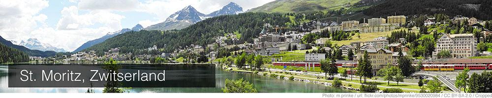Weer St Moritz maart