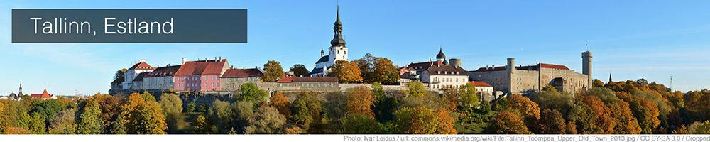 Weer Tallinn augustus