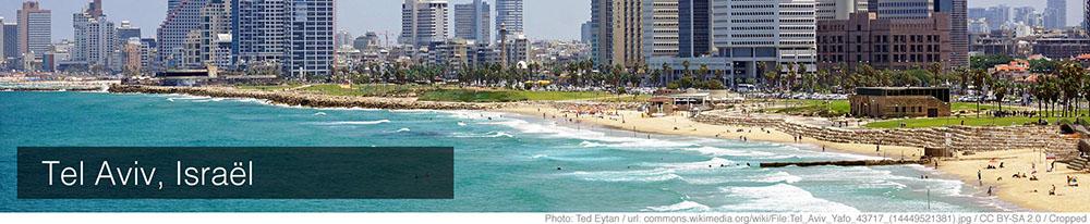 Weer Tel Aviv augustus