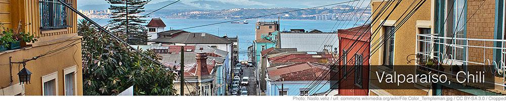 Weer Valparaiso januari