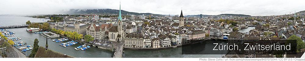 Weer Zurich augustus